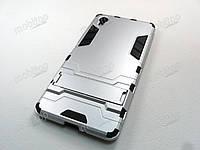 Противоударный чехол Sony Xperia X (серебристый), фото 1