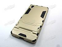 Противоударный чехол Sony Xperia X (золотистый), фото 1