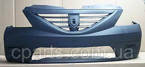 Бампер передний без ПТФ Dacia Logan MCV (оригинал)