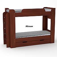 Твикс Компанит Двухъярусная детская кровать с выдвижным ящиком