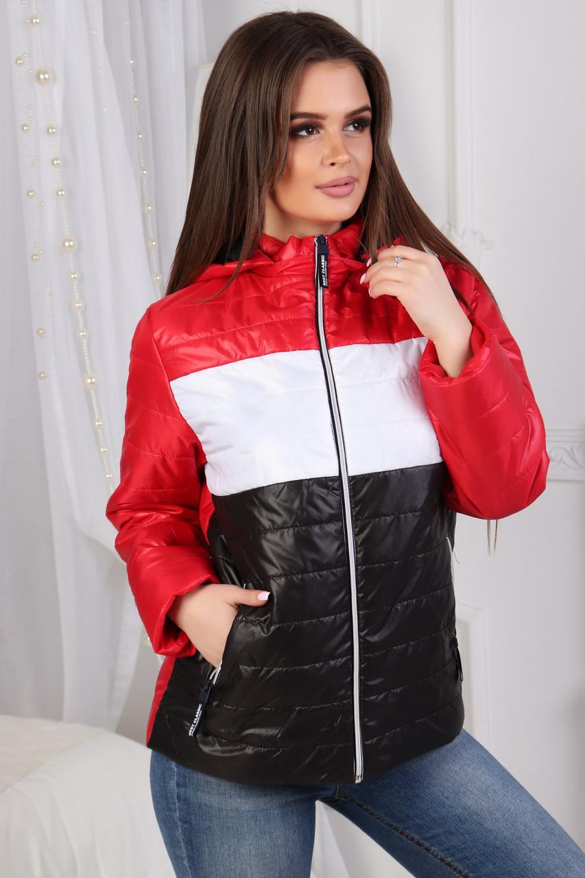 """Демисезонная куртка с капюшоном """"Нэнси"""""""