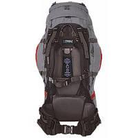 Рюкзак туристичний Terra Incognita Vertex PRO 80 red / gray для пішого та гірського туризму, для екс