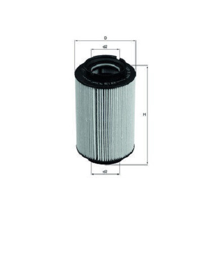 Фильтр очистки топлива Max Gear 26336 для автомобилей Citroen, Fiat, Opel, Peugeot, Suzuki