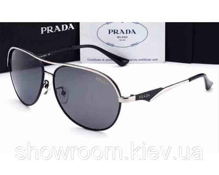 Солнцезащитные очки в стиле Prada (037) black