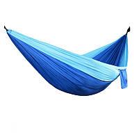 Гамак Meibony Outdoor Single Camping Hammock Подвесной одноместный гамак для кемпинга,250 кг,Голубой (SUN0361)