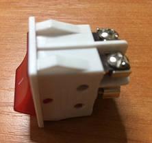 Вимикач для електроприладів з індикатором Код.55218, фото 2