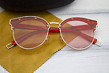 Очки с футляром розовые (F1071-4), фото 2