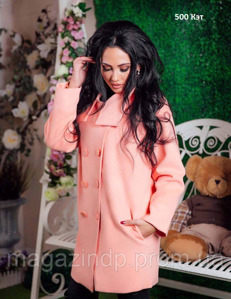 Пальто женское весеннее 500 Кэт Код:665695143