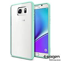 Чехол Spigen для Samsung Note 5 Ultra Hybrid, Mint