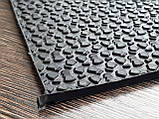 Резина набоечная каучуковая MAGNA WINTER 300х300х6.2 мм цвет чёрный, фото 2