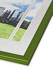Фоторамка из пластика Зелёный / салатовый металлик - грамот, дипломов, сертификатов, фото, вышивок!, фото 2