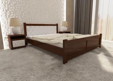 Деревянная кровать Палермо Софт из ольхи (все размеры )