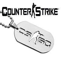 Кулон жетон Counter-Strike CS:GO