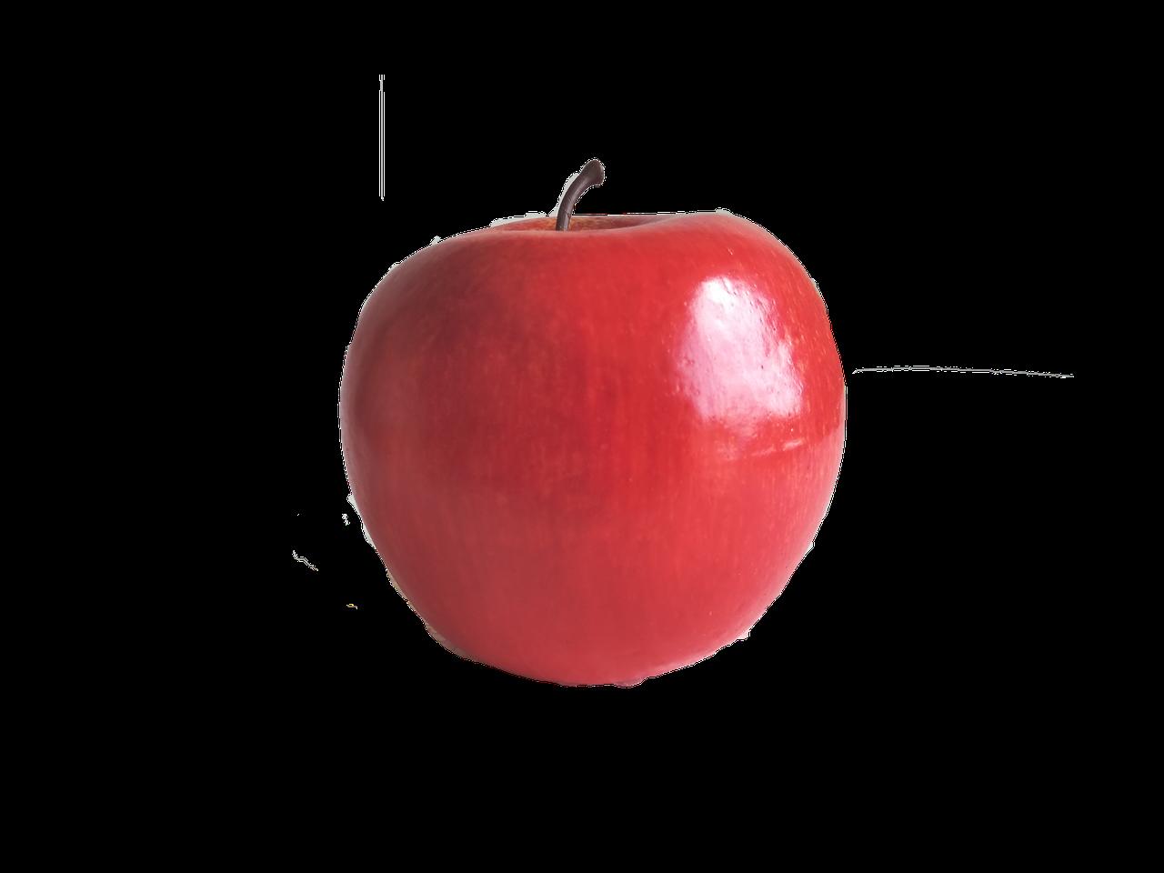 Декор Яблоко искусственное красное