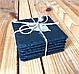 Костеры 4 шт. 9,3 х 9,3 см; натур., сланец, фото 2