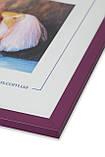 Фоторамка из пластика Сиреневый  -  для грамот, дипломов, сертификатов, фото, вышивок!, фото 2