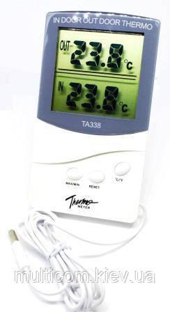 17-03-342. Цифровой термометр DT TA338 (внутри+снаружи)