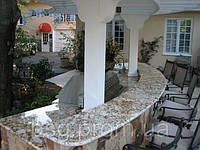 Столешница кухонная из мрамора Бежевый