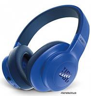 Наушники JBL E55BT беспроводные + проводные, bluetooth-гарнитура, стерео, Blue (синие) (JBLE55BTBLU)
