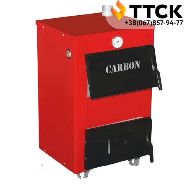 Автоматизированный твердотопливный котел CARBON  ( Карбон) КСТО 18 кВт + Regulus