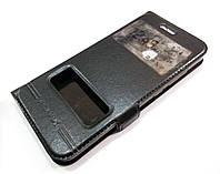Чехол книжка с окошками momax для Huawei Nova 2 черный