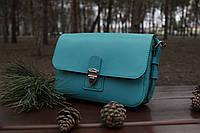Женская кожаная сумка LILI кросс-боди. Ручная работа, фото 1