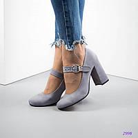 Женские туфли на среднем каблуке 36 37 38 39 40