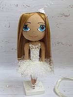 Кукла балерина портретная