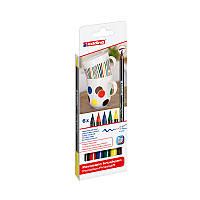 Набор маркеров Edding для фарфора Porcelain e-4200 горячей фиксации, 6 цветов , фото 1
