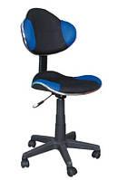 Офисное поворотное кресло Signal Q-G2, черно-синее