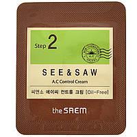 Крем для проблемной кожи The Saem See & Saw AC Control Cream