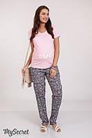 Свободные брюки для беременных HANNA, из штапеля, размер 50, фото 1