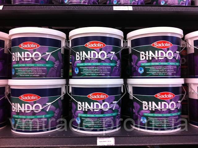 Краска Sadolin BINDO 7, 9.3л, БЦ
