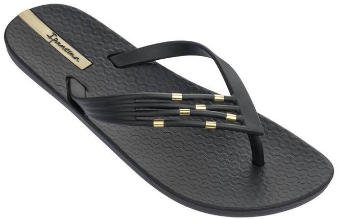 Оригинал Вьетнамки женские 82310-20766 Ipanema Premium Sunset Thong Black/Black, фото 2