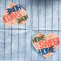"Салфетка декупажная 33x33 см 29 "" Sweet home """