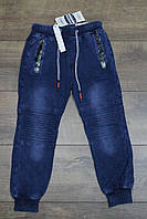 Cпортивные штаны. ( Джинсовый трикотаж). 4 года.