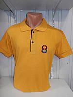 Футболка мужская ERKEK 8 поло однотонная, полубатал 010 \ купить футболку мужскую оптом