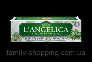 Зубная паста ТМ L'ANGELICA «Эвкалипт и Мята», 75 мл
