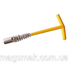 Ключ свечной подпружиненный 16х220мм Sigma (6030011)