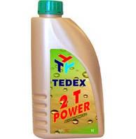 TEDEX масло двухтактных двигателей 2T POWER /полусинтетическое/ - (1 л)