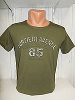 Футболка мужская 3Д RBS  стрейч коттон 85 003 \ купить футболку мужскую оптом