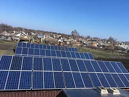 """Домашняя солнечная электростанция под """"зеленый"""" тариф 30 кВт Huawei Донецкая область"""