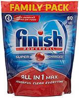 Таблетки для посудомоечных машин Finish All in 1Max PowerBall 80 шт