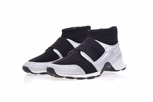 Женские New 2018 Chanel stretch sneakers, фото 2