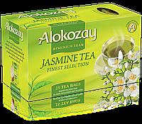 Чай Alokozay зеленый с жасмином пакетированый в конвертиках (25 Tea Bags)