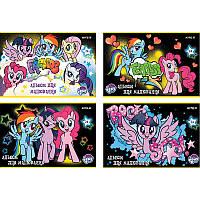 Альбом для рисования А4 KITE My Little Pony 24 л 120 г/м2 скобаLP18-242