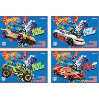 Альбом для рисования А4 KITE Hot Wheels 24 л 120 г/м2 скоба HW18-242