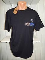 Футболка мужская FODILS Батал  стрейч коттон, 2х сторонняя 002 \ купить футболку мужскую оптом
