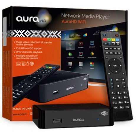 Телевизионная приставка IPTV приставка Aura HD PRO