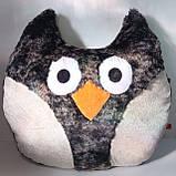 Мягкая игрушка-подушка ручной работы Сова, фото 3